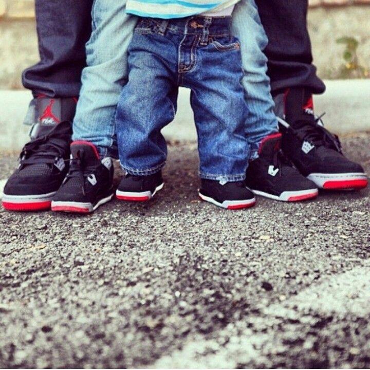 Father mother son ❤   Jordans, Best