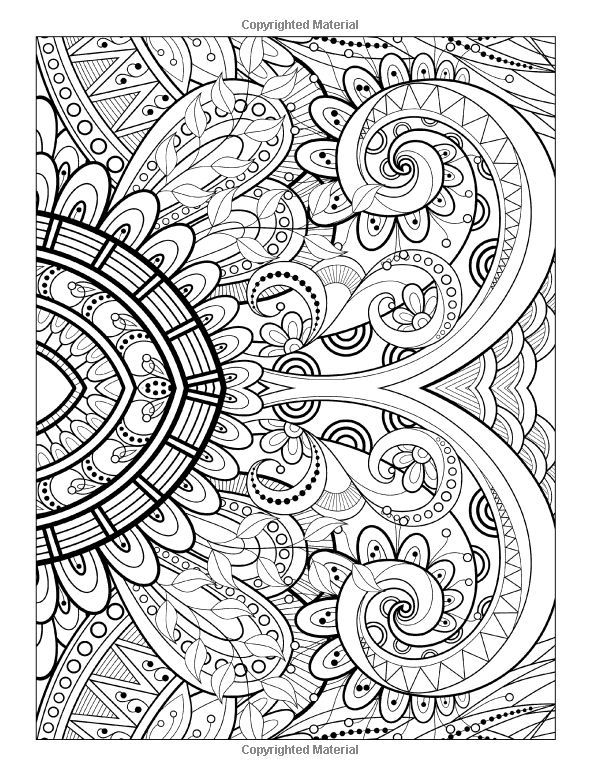 a coloring page from detailed designs and beautiful patterns