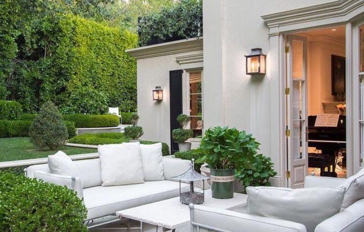 Pin von bettina betz auf terrassen pinterest haus haus ideen und garten - Farbkonzept haus ...