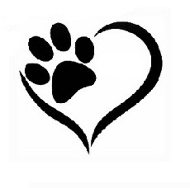 Dog Paw Print Tattoo Writing: Dog Tattoos, Animal Tattoos