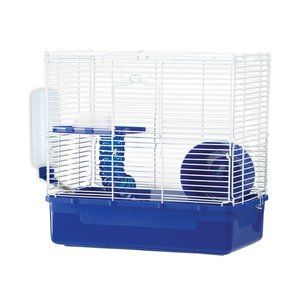 Ware Mfg Home Sweet Home Two Level Hamster Cage 22 99 At Walmart Com Small Pets Hamster Cage Habitats