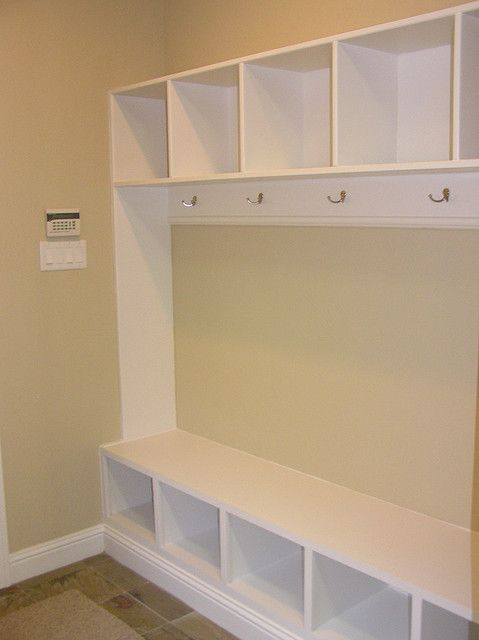 Mud Room Use Side Ways Book Case For Bench Home Sweet Home In 2019 Mudroom Laundry Room