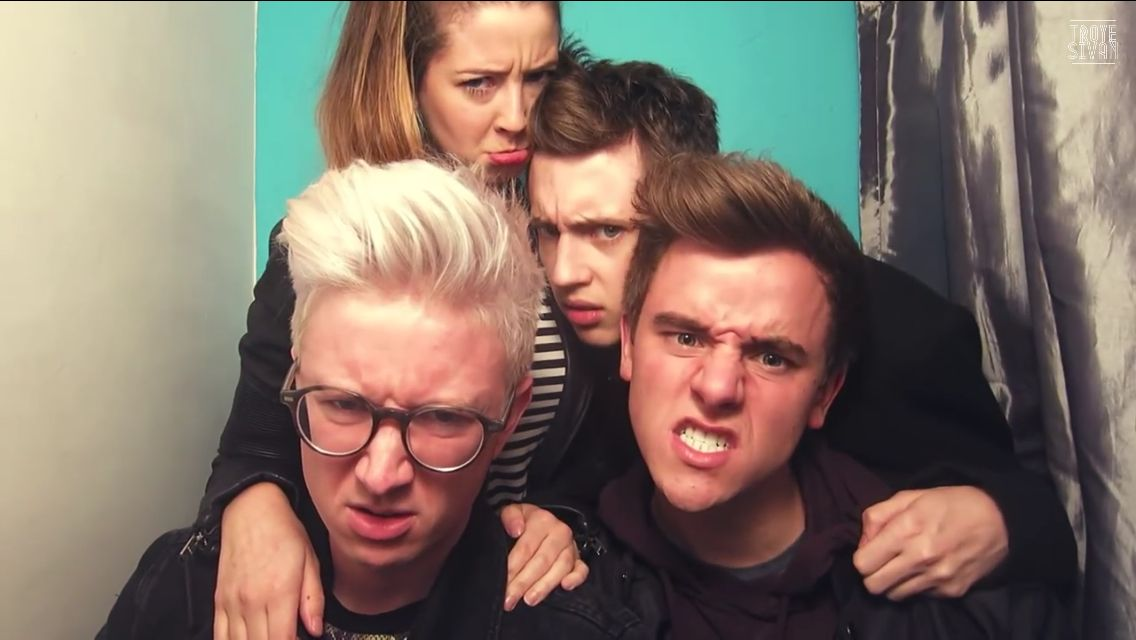 Connor Zoe Tyler Troye