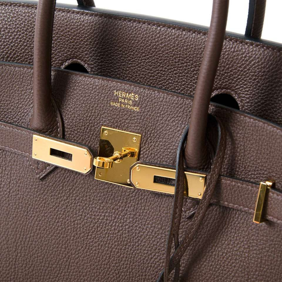 95a2ac59db7 View this item and discover similar top handle bags for sale at 1stdibs - Hermès  Birkin bag in intense  Cacao  hue