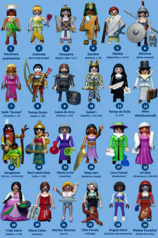 Mujeres Mobil Play Niños Libros Para HistoriaPlaymobil SzMVLqUGp