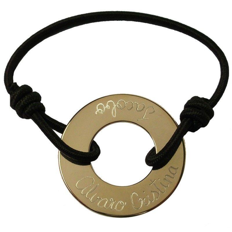 Pulsera aro con ba o de oro una pulsera realmente - Aro de bano ...
