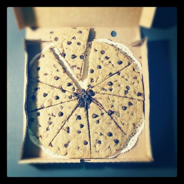©Nadi Bay Photography. Giant choc chip cookie pizza made by our old fabulous Editor Alexia for my birthday, so sweet!