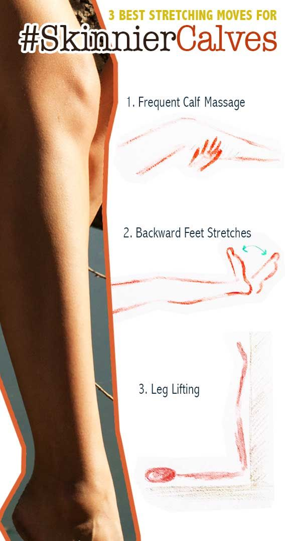 How to Slim Calves FAST - Give Me That Skinnier Calves ...