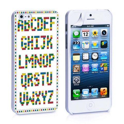 Lego Alphabetic iPhone 4, 4S, 5, 5C, 5S Samsung Galaxy S2, S3, S4 Case – iCasesStore