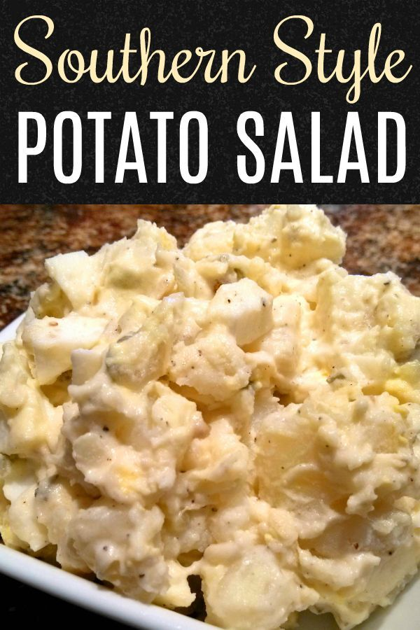 Photo of Southern Style Potato Salad