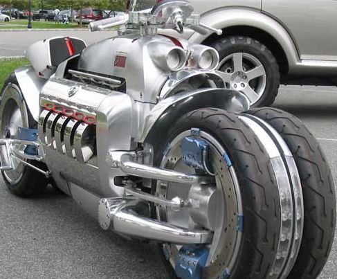 Dodge Tomahawk 350 Mph 560 Km H World S Fastest Motorcycle