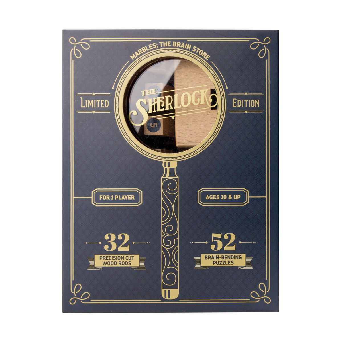 Marbles The Sherlock Wooden Puzzle Game Kmart Upakovka