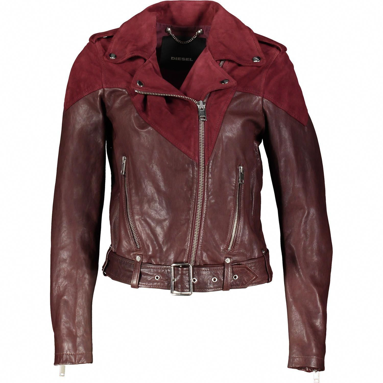 Red Leather Biker Jacket Jackets Coats Clothing Women Tk Maxx Leatherjacketsformenorange Biker Jacket Jackets Leather Biker Jacket [ 1500 x 1500 Pixel ]