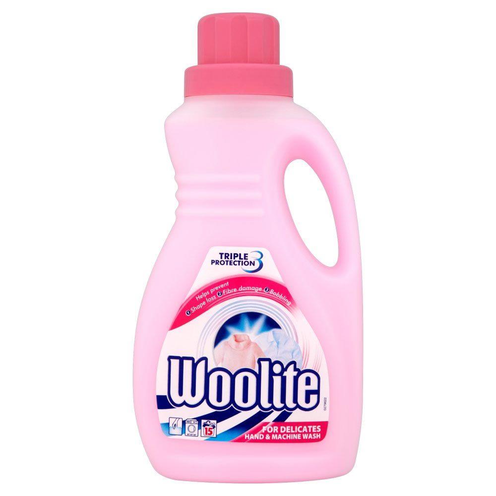 Woolite Detergent Hand And Machine Wash 750ml Washing Liquid