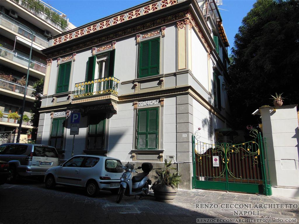 Liberty Arredamento ~ Villa in stile liberty #napoli #home #exterior #design