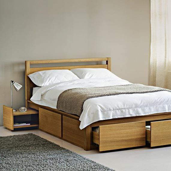 Inspirational Double Bed with Storage  Inspiration