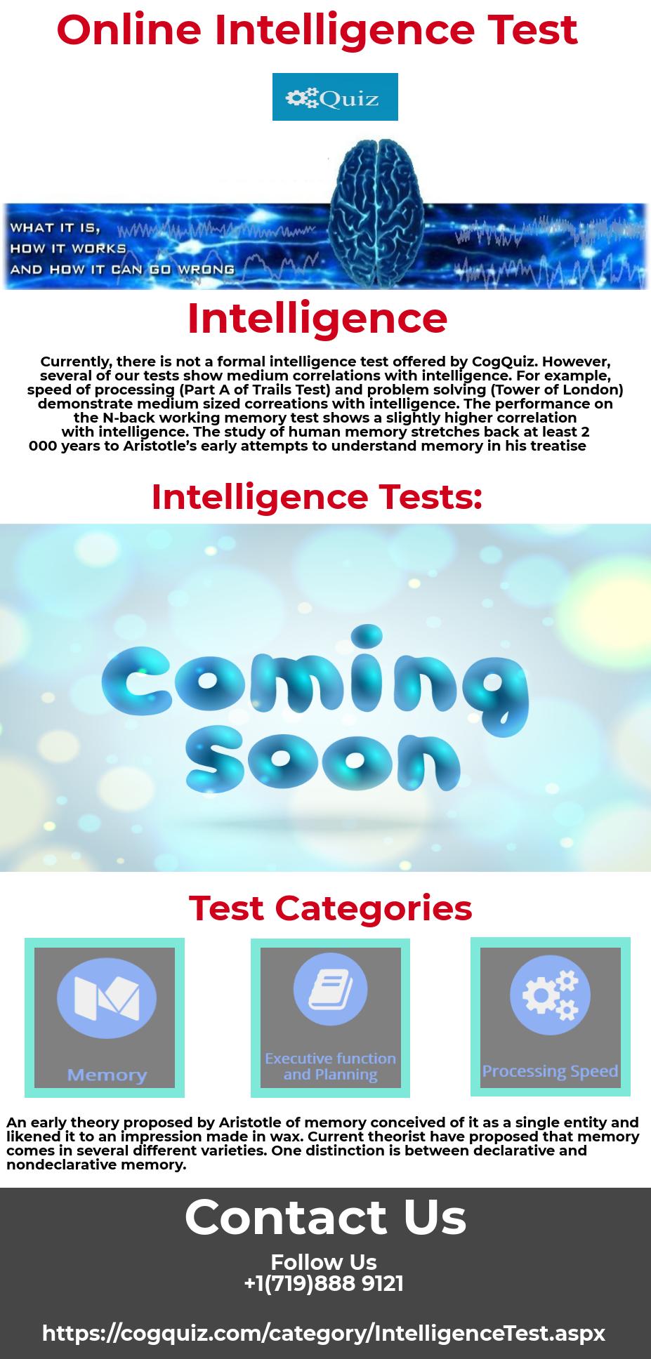 online intelligence tests
