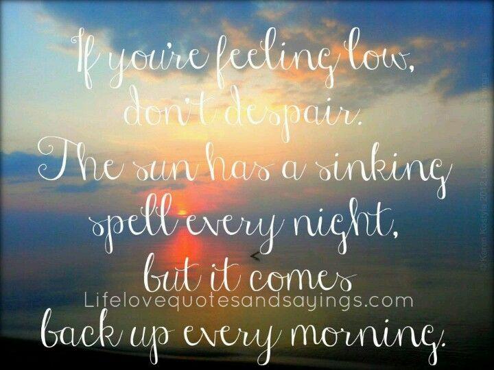 Feeling despair quotes