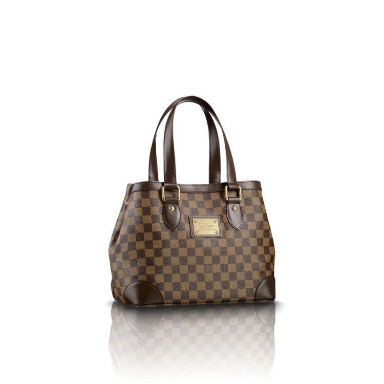 Louis Vuitton N51205 Damier Ebene Canvas Hampstead PM – Ebony ... 211b6ef9f12e4