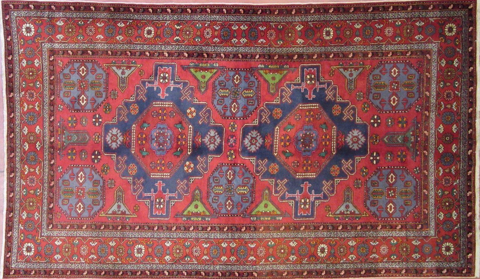 N 286831 Kazak Antico 266 X 157 Cm Tappeti Orientali E