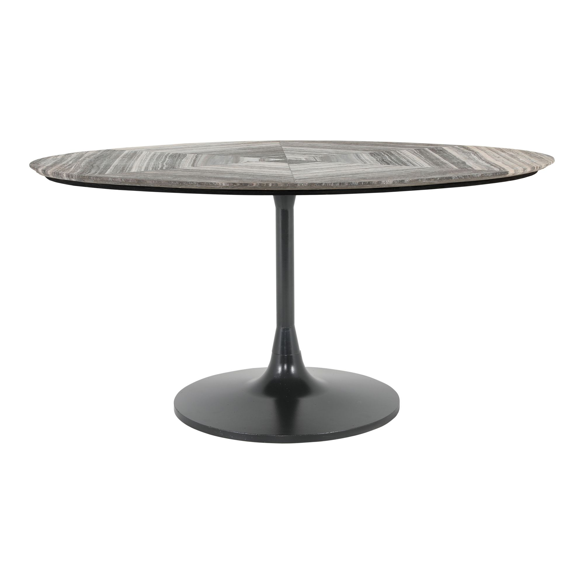 Nyles Oval Marble Dining Table Moe S Wholesale In 2020 Dining Table Marble Oval Marble Dining Tables Marble Dining