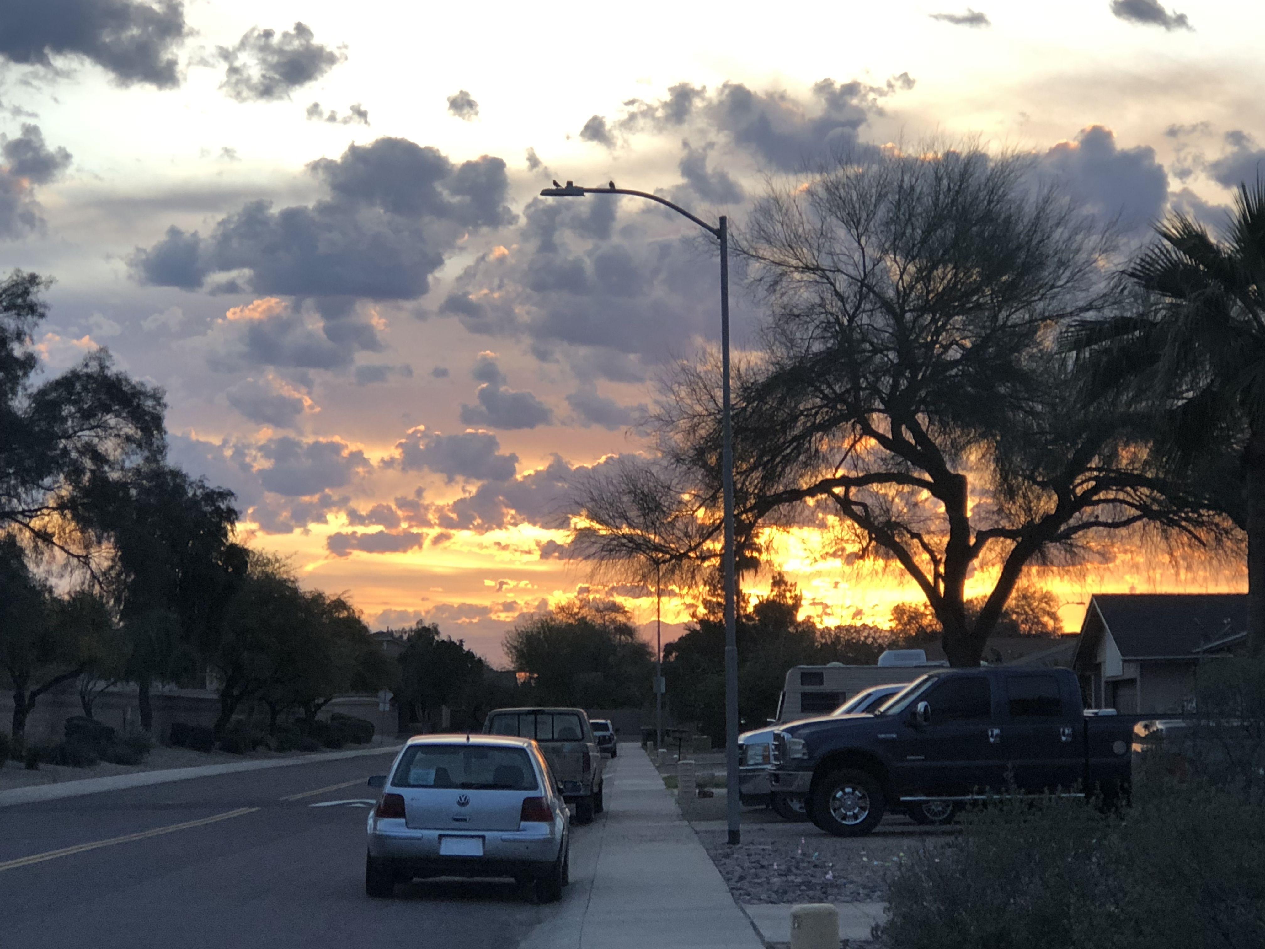 Sunrise In Peoria Arizona 3 20 19
