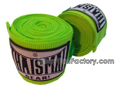 Thaismai THAISMAI Muay Thai Hand Wraps - LIGHT GREEN