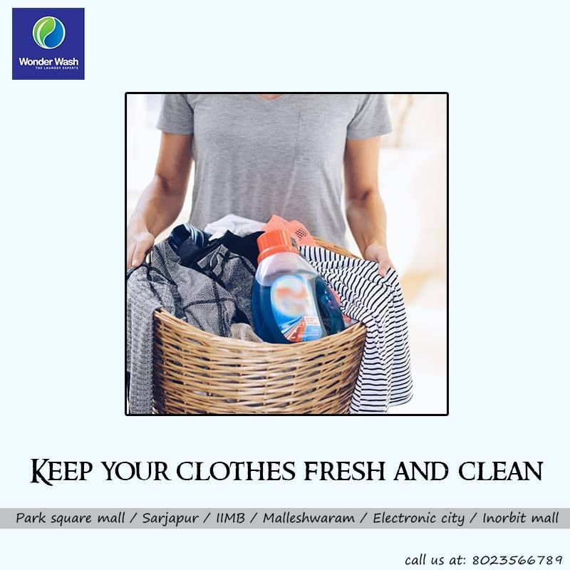 Laundry Is Made Easy With The Help Of Wonder Wash Dry Cleaning