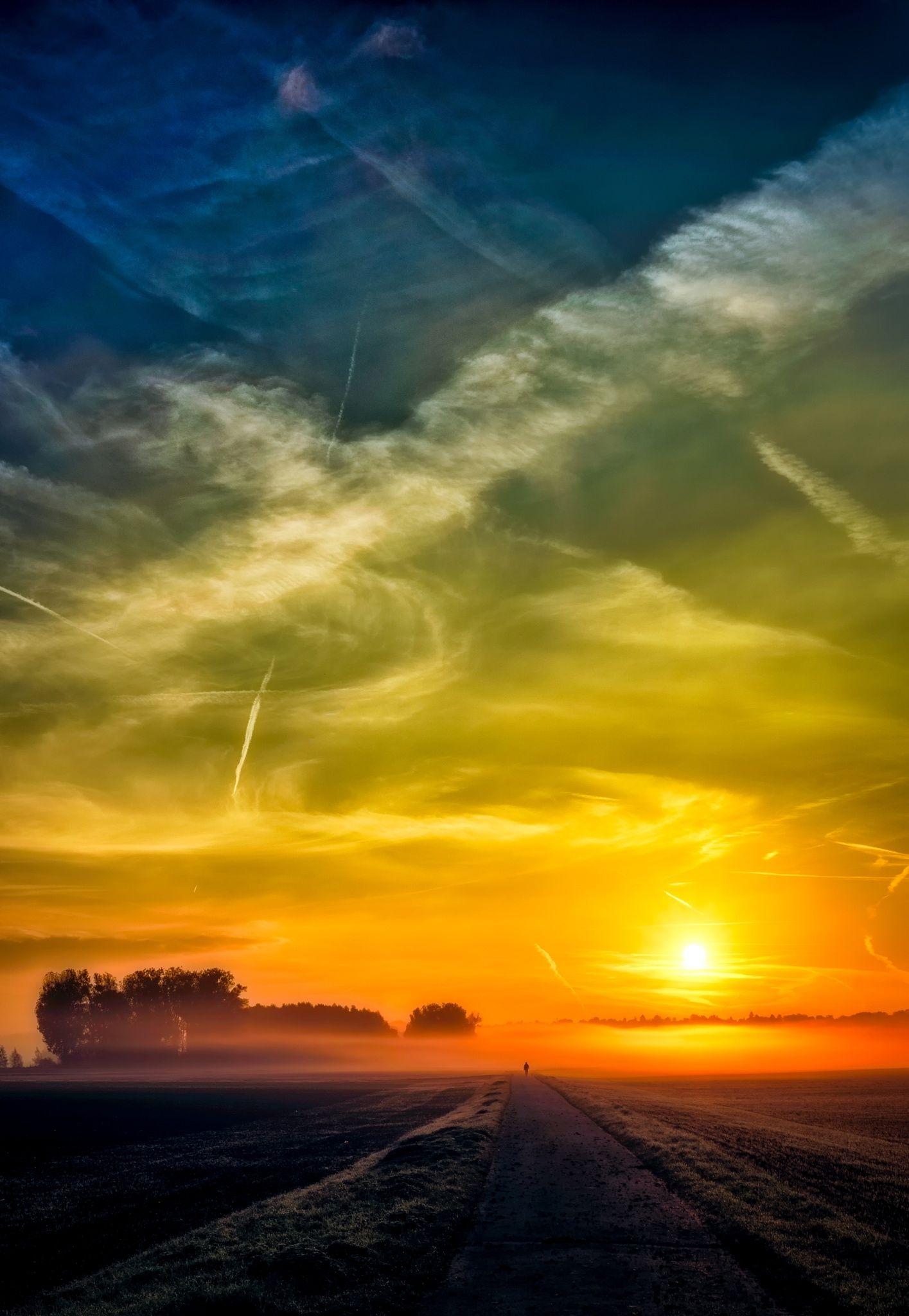 Autumn Sunrise -