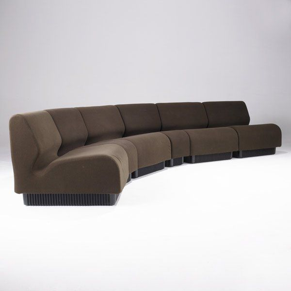 Don Chadwick; Modular Sofa System For Herman Miller, 1974.