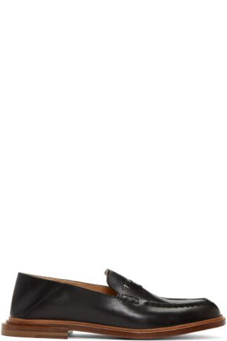 Fendi - Black Convertible Loafers  125c4b87a983f