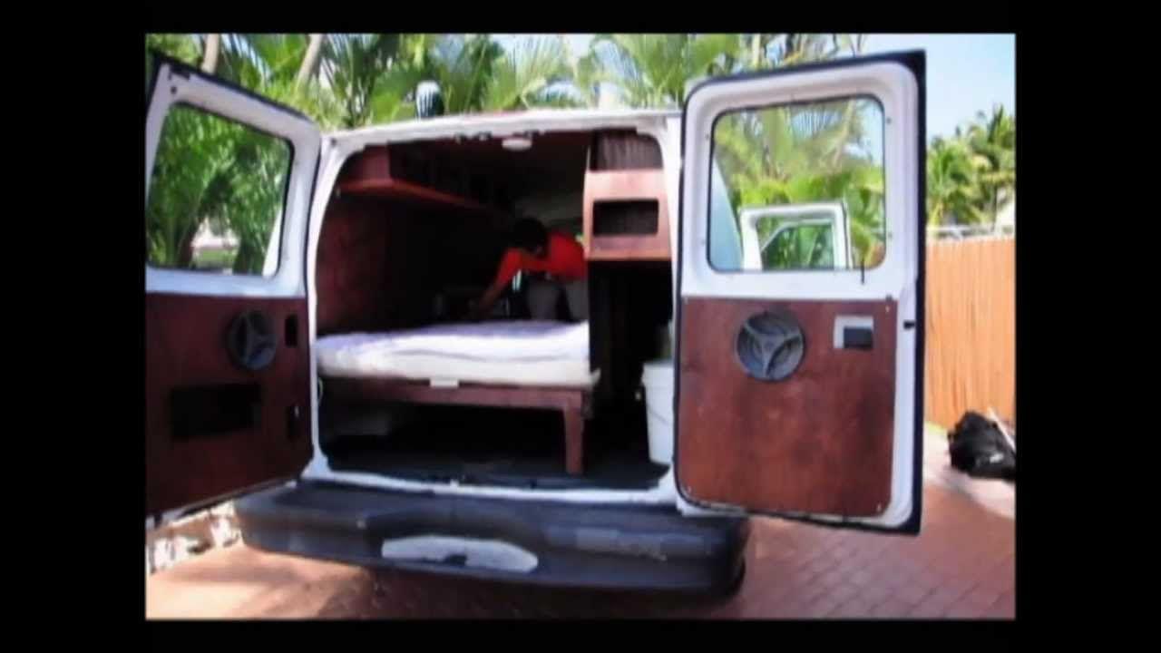 Magic Bus A Cargo Van ConversionwmvWinter Camping Hacks