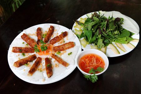 hanoi s bustling quan an ngon serves vietnam s signature dishes in the courtyard of an old villa