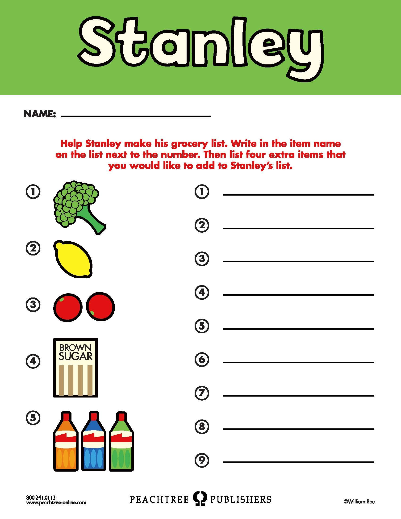 Free Educators Resource Activity Kit For Stanley S Store