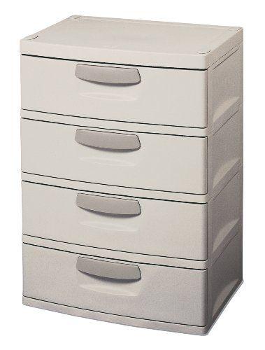 Fresh 4 Drawer Storage Cabinet