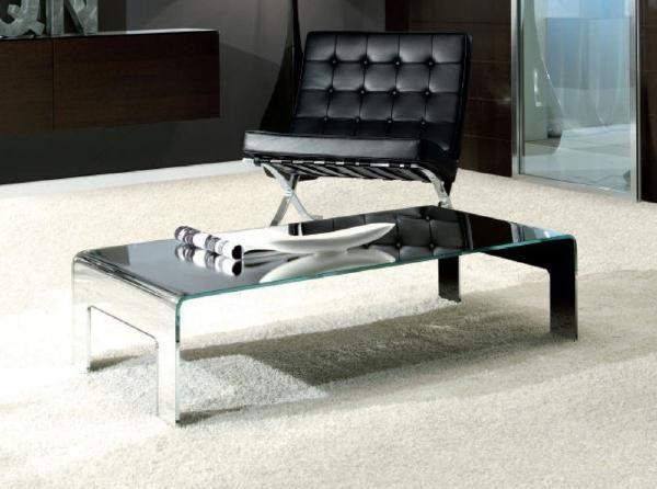 Feet Mirrored Coffee Table Andrew piggott furniture