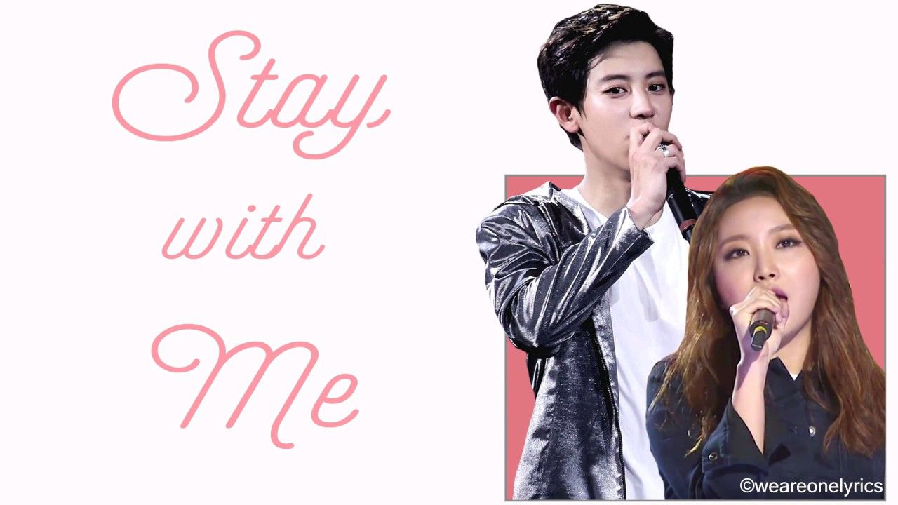 Chanyeol & Punch - Stay With Me [Hangul, English and EASY