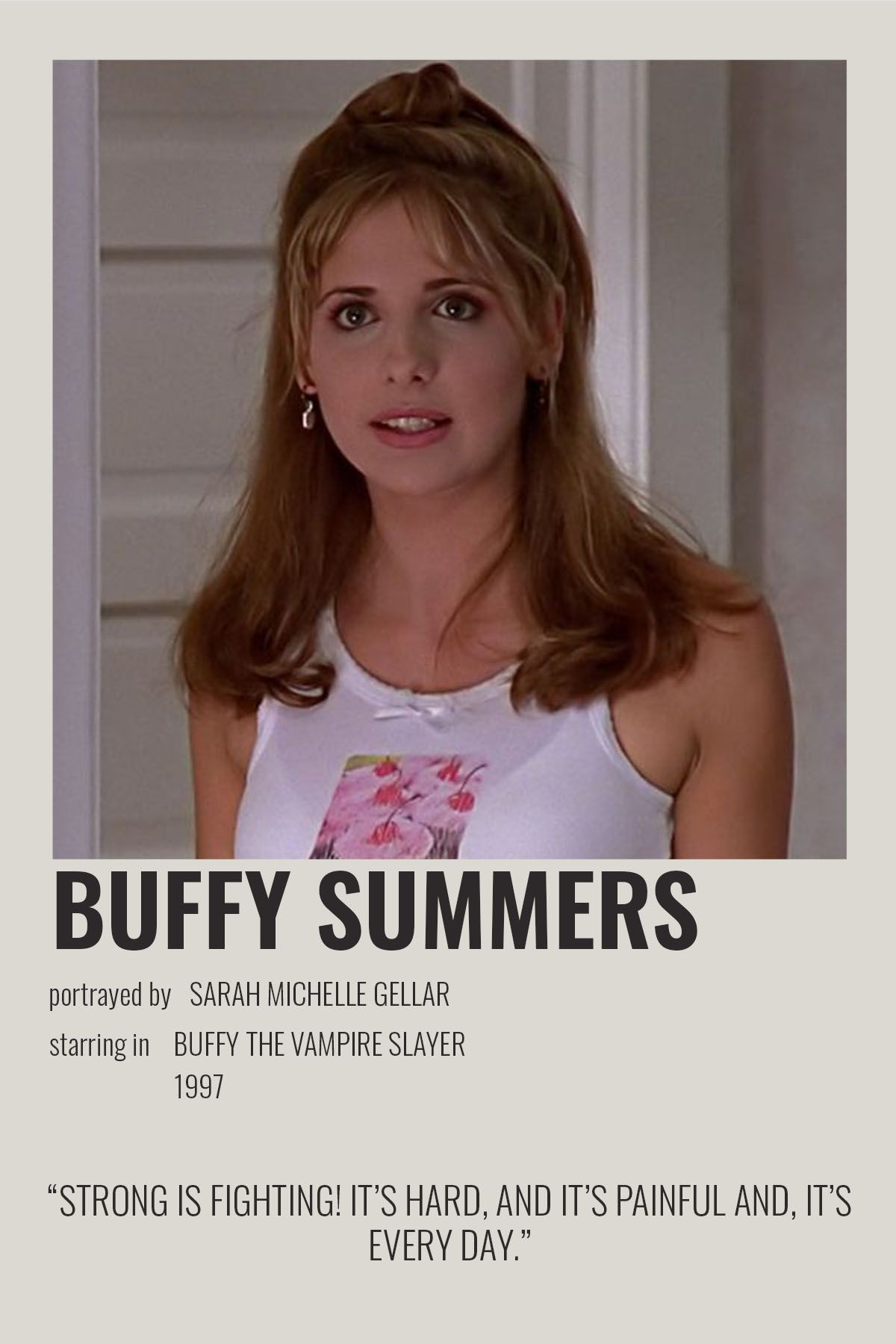 Buffy Summers by cari