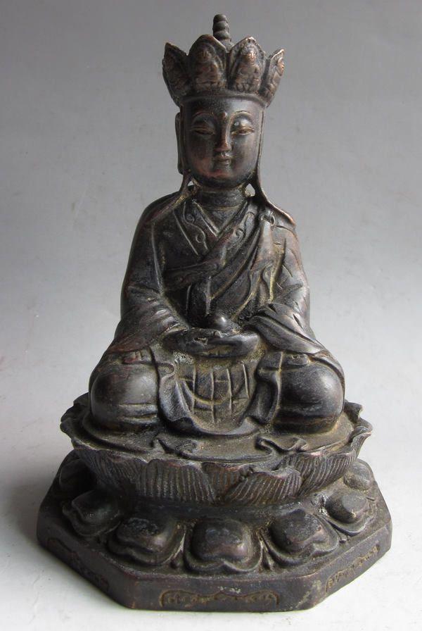 Spring Auction March 14, 2019   Bodhisattva, Bronze, Sculpture