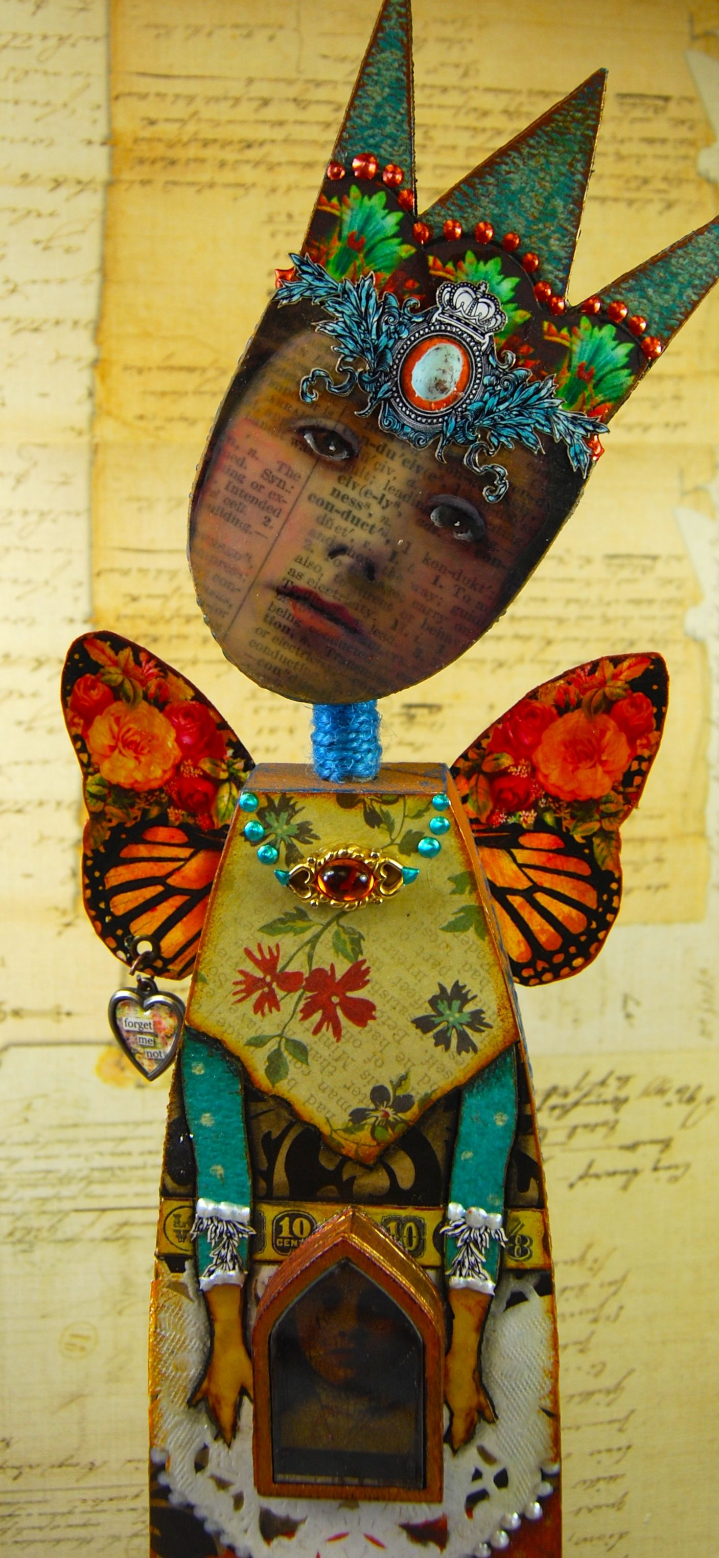 Imaginarium-Anthology of an Art Doll...an online class with MJ Chadbourne this summer on artfulgathering.com....this class is going to be so much fun!