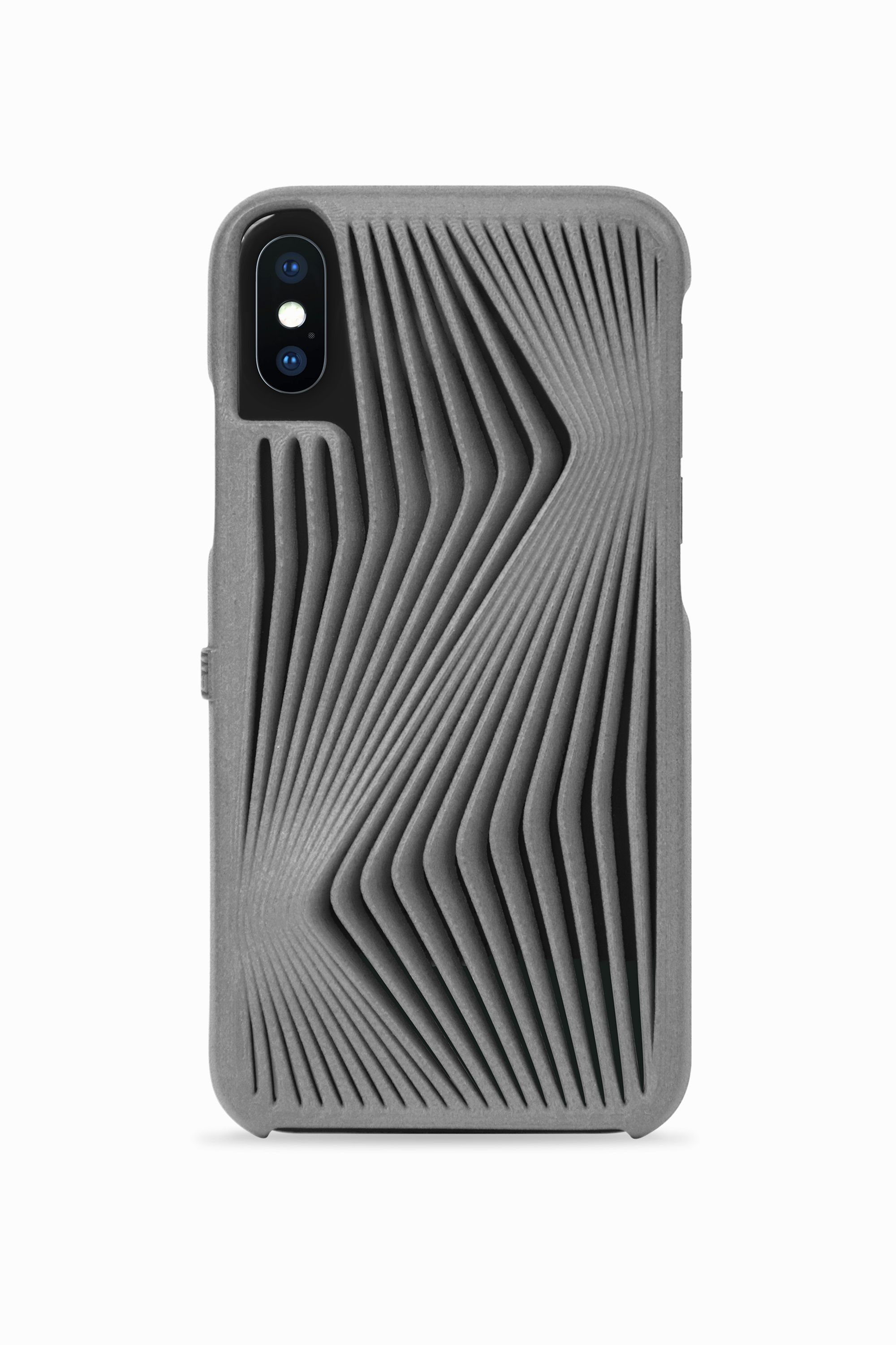 Herz 3D Printed Phone Case for iPhone X by Freshfiber