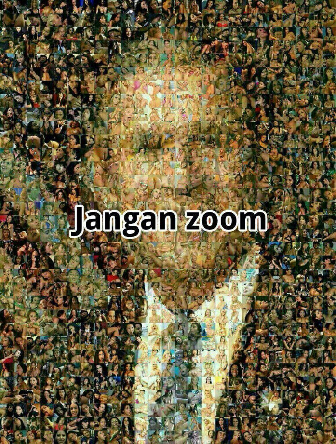 Kumpulan Gambar Lucu Jangan Di Zoom