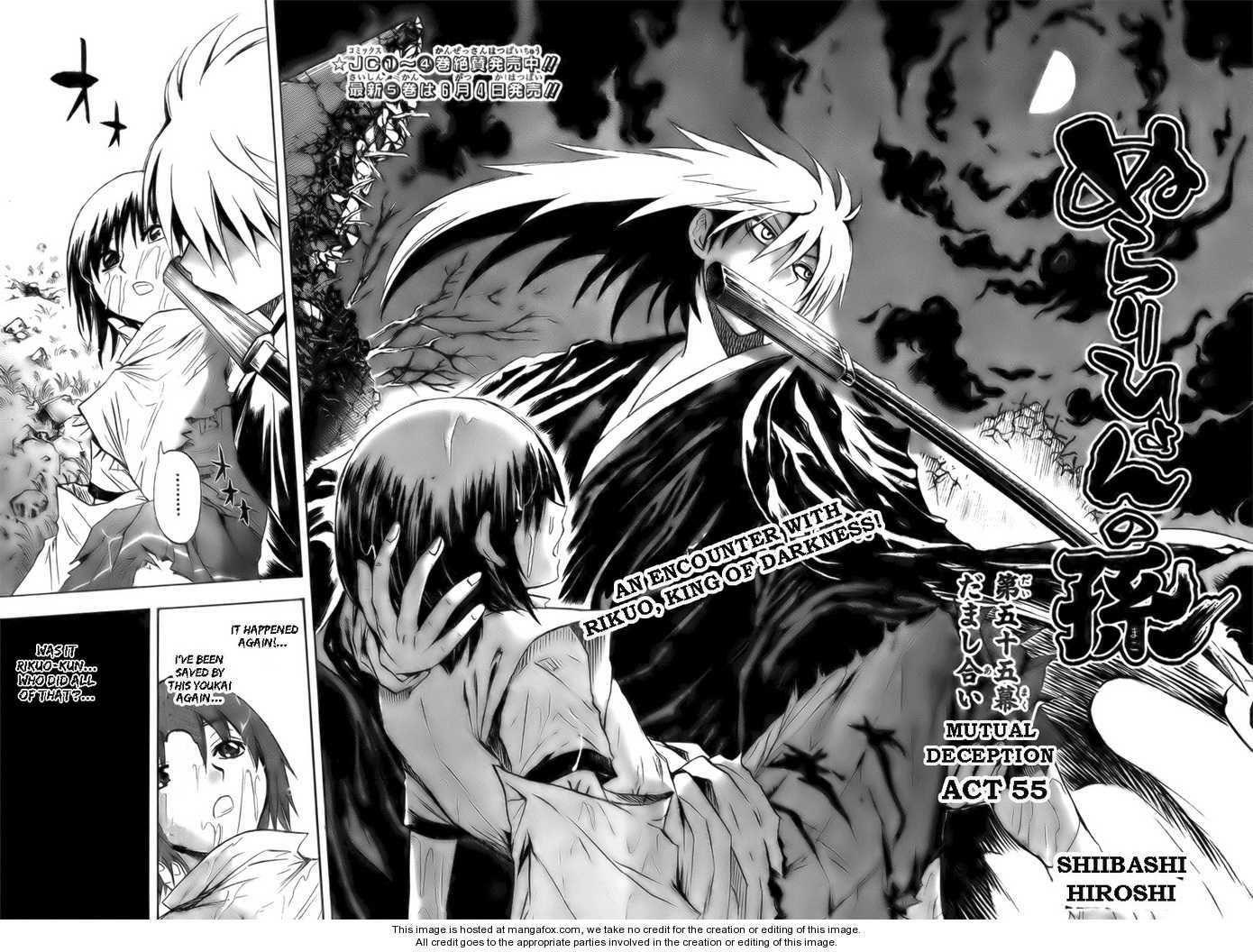 Nurarihyon No Mago 55: Mutual Deception At MangaFox.me