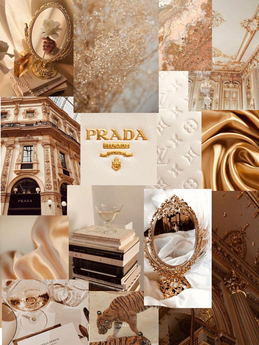 Golden Aesthetic Wallpaper Phone Champagne Prada Lv Pinterest Iphone Wallpaper Tumblr Aesthetic Aesthetic Iphone Wallpaper Classy Wallpaper Aesthetic background wallpaper golden