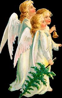 Zibi Vintage Scrap: Czy te anioły były w Betlejem?
