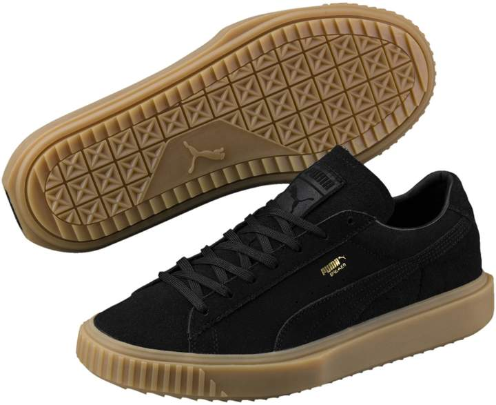 Breaker Suede Gum Sneakers   PUMA US