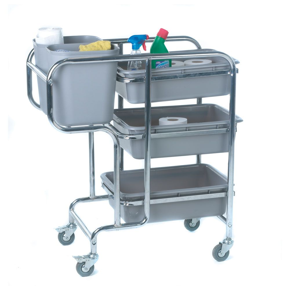 Model GIC816 #Collector #Trolley Mobile on four swivel castors, two ...