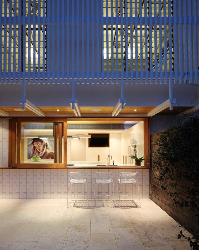 Inside outside casual dining also inner city brisbane architecture the park house designs rh pinterest