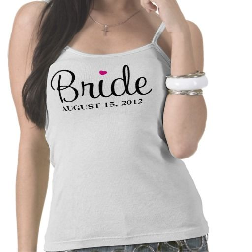 BRIDE HEART | WEDDING APPAREL SHIRT
