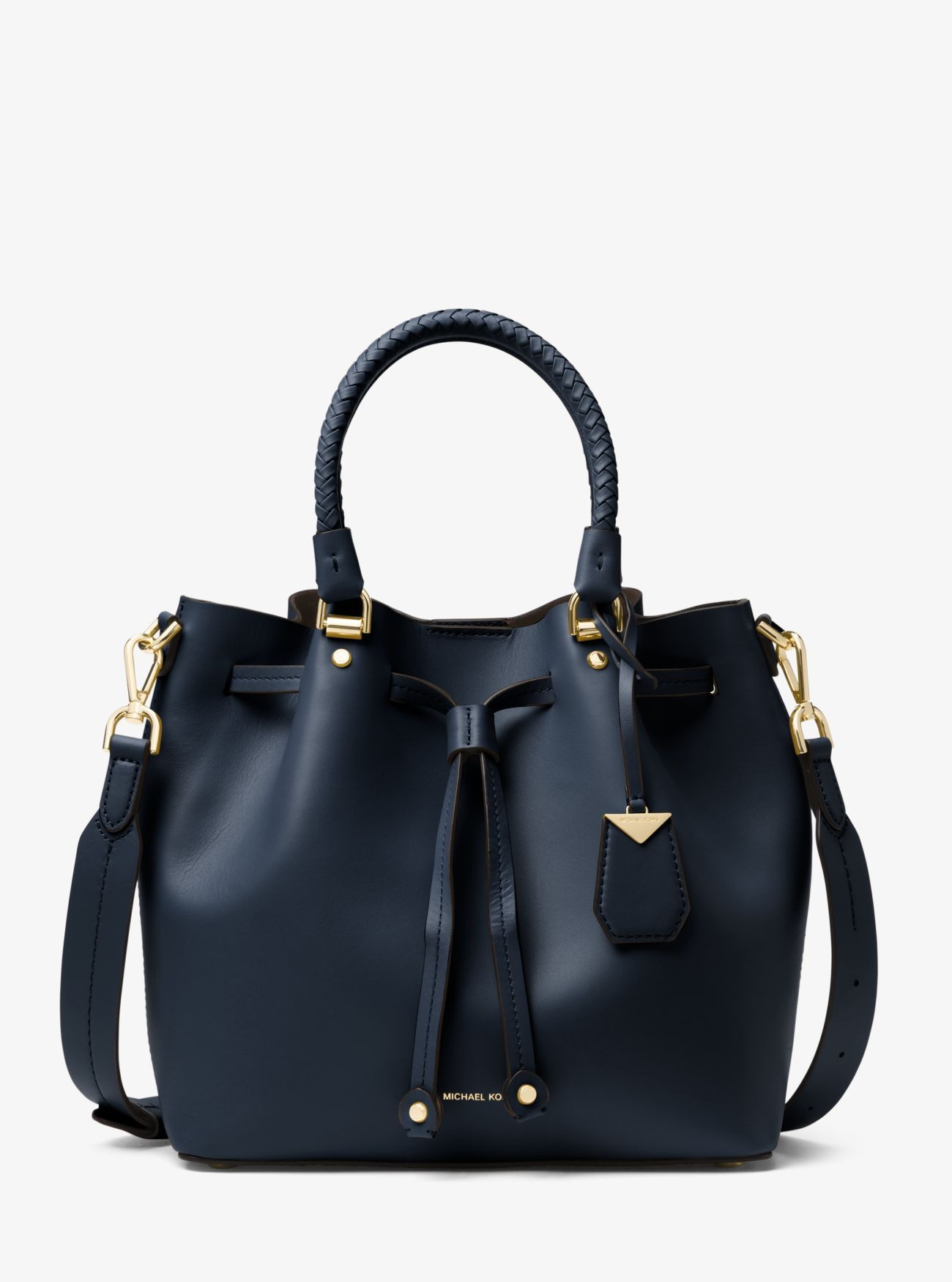 63d09be4efc4 ... purses   luggage on the official Michael Kors site. Blakely Leather  Bucket Bag